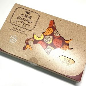 北海道オニオンスープ24袋-外箱