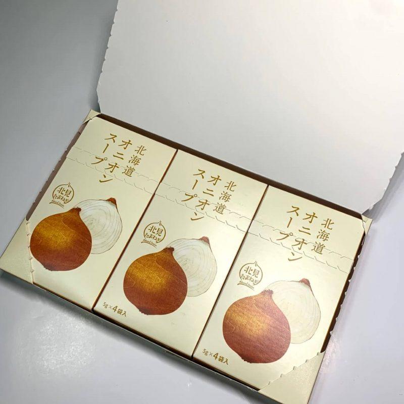 オニオンスープ12本-開封