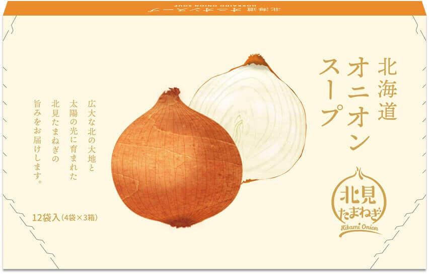 北海道オニオンスープ12袋入-表