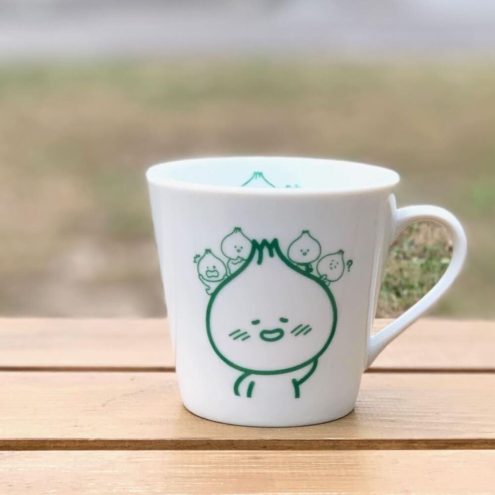 きーたんのマグカップ