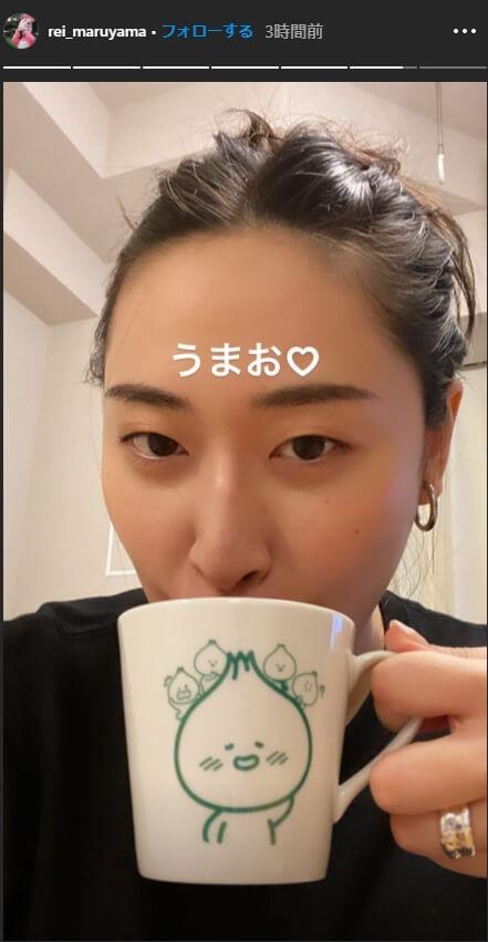 丸山礼さんきーたんマグカップ1