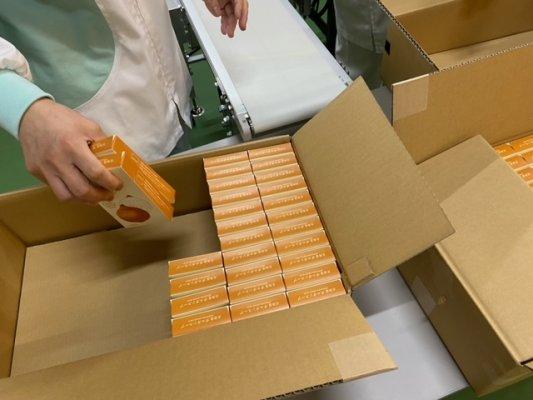 オニオンスープ-商品箱詰め・保管